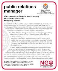 Public Relation Resume Ngo Recruitment Communications And Media Ngo Recruitment