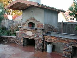 outdoor gable roof wood fired pizza ovens traditional patio