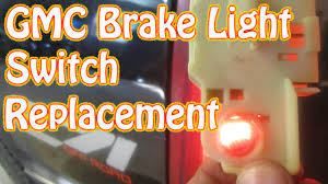 diy how to replace a gmc brake light switch chevy silverado pickup
