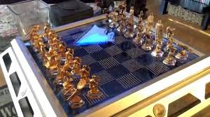 star trek 25th anniversary collectors chess set from the franklin