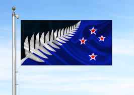 New Zealand Stars On Flag New Zealand Selects Silver Fern As Final Design For Flag Vote
