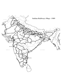 Smu Map Impact Of Railroads In Mexico And India