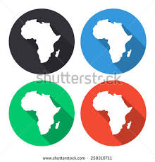 3d africa map vector africa continent map stock images royalty free images vectors