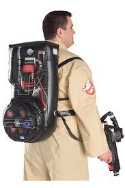 amazon com ghostbusters costume with inflatable backpack plus