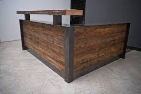 Reception Desk Wood Custom Office Furniture Portland Adbusch Llc