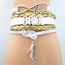 bridal bracelet images Sandei fashion infinity love bride bracelet bridal bracelets gold jpg