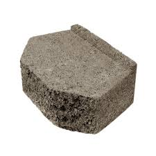 17 1 4 in x 12 in tan concrete garden wall block 857623 the