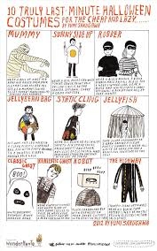 Cheap Costume Ideas Halloween by 10 Truly Last Minute Halloween Costume Ideas For The Cheap U0026 Lazy