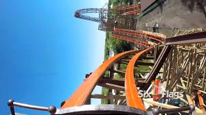 Goliath At Six Flags Goliath Pov Six Flags Great America 2014 Wooden Roller Coaster