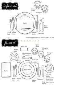 how to set a formal dinner table wedding emergency kits by mojuba how to set a proper dinner table