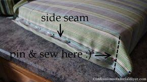 Make Cushions For Patio Furniture Diy Cushions For Patio Furniture Super Easy I Didn U0027t Have Old