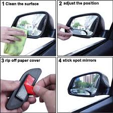 Blind Spot Mirrors For Motorcycles Amazon Com Blind Spot Mirrors Eforcar Car Mirror Side View Blind