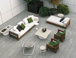 Outdoor Lounge Vis A Vis Alison Iroko Outdoor By Minotti Design Roberto Minotti Pedregal