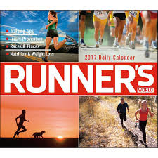 Desk Daily Calendar Runners World Desk Calendar 9781416244240 Calendars Com