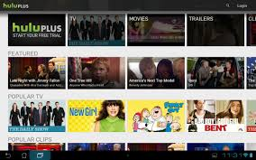 hulu plus updated with brand new tablet ui for android android