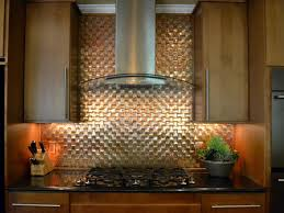 Kitchen Metal Backsplash Ideas Travertine Backsplashes Hgtv