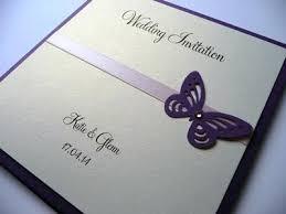 wedding invitation butterfly purple wedding invitation with lilac