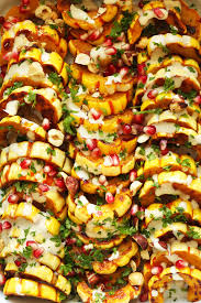 thanksgiving sauce delicata squash bake minimalist baker recipes