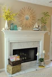 fireplace decorating ideas 10 fabulous fireplace mantel ideas for summer summer mantel