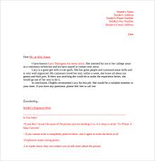 free template for writing a letter of recommendation oshibori info