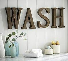 Letters For Home Decor Wall Art Ideas Design Bathroom Wash Metal Wall Art Letters Home