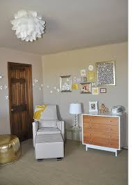 baby room picture with cool and modern nursery furniture with