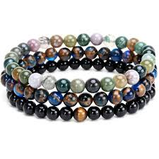 beads charm bracelet images Natural stone beads charm bracelet body kingdom shop jpg