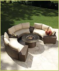 curved outdoor sectional sofa home design ideas