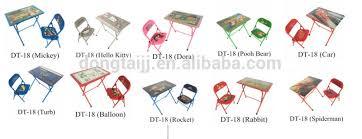Folding Table Chair Set Dt 19 Cheap Kid Study Table Chair Portable Folding Table And Chair