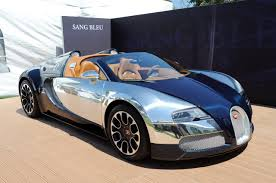 first bugatti bugatti grand sport sang bleu another special veyron