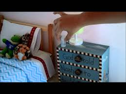 Dollhouse Bed For Girls by American Doll House Bedroom Set Up Tour For Our Boy Doll