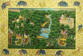 miniature art painting