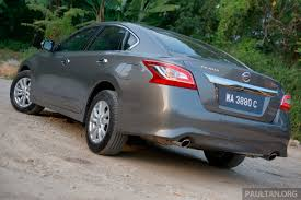 grey nissan altima 2016 nissan altima to be facelifted in 2016 will teana follow suit