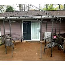 Cindy Crawford Gazebo by Replacement Canopy For Value City Gazebos Garden Winds