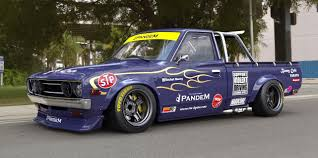 datsun nissan truck product guide from the creators of rocket bunny a new widebody