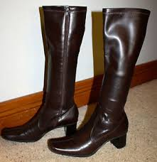 womens brown boots size 9 buy womens brown fashion knee high franco sarto boots size 9 1 2