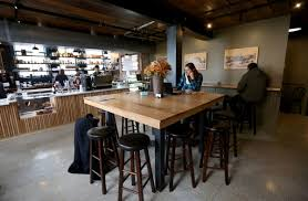 Porter Dining Room Set Let U0027s Eat Porter A New Cafe In An Old Depot Signals Things To