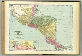 Map Of Middle America by Central America David Rumsey Historical Map Collection