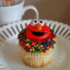 elmo cupcakes elmo cupcake