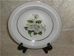 white china pattern 3939 japan china white 3939 4 bread butter