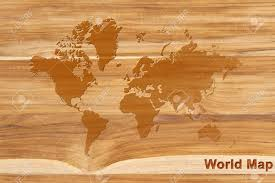 World Map On Wood Planks by Texture Of Teak Wood Background Wood Plank Stock Photo Picture