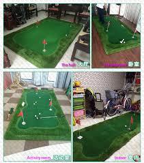mini golf bureau livraison gratuite simulateurs de golf pgm intérieure extérieure