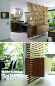 Nexxt By Linea Sotto Room Divider This Slatted Wooden Room Divider Has A Built In Cabinet Todays