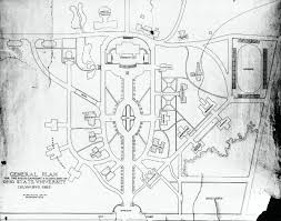 Ohio State University Campus Map by Frank Packard