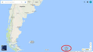 Google Maps Argentina 7 3 Magnitude Quake In South Atlantic Ocean No Tsunami Alert