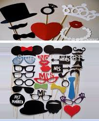photo booth props for sale new hot sale 39 pcs on stick mustache heart crown necklacephoto