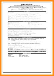 Resume Format For Be Freshers 4 Resume Format For Freshers Actor Resumed