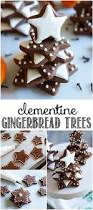 clementine gingerbread cookie trees bake at 350