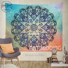 bohemian tapestry mandala tapestry wall hanging bohemian decor