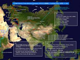 Haplogroup World Map by A Historical Y Dna Migration Route Map Haplogroups R1a1a R1b1a2